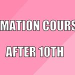 Animation Courses After 10th