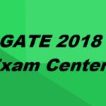 GATE 2018 Exam Centers