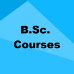 B.Sc. Courses