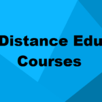 Distance Education Courses After 10th & 12th