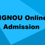 IGNOU Online Admission 2018-2019