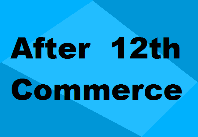 Courses After 12th Commerce 2020 Details Fees Colleges Eligibility