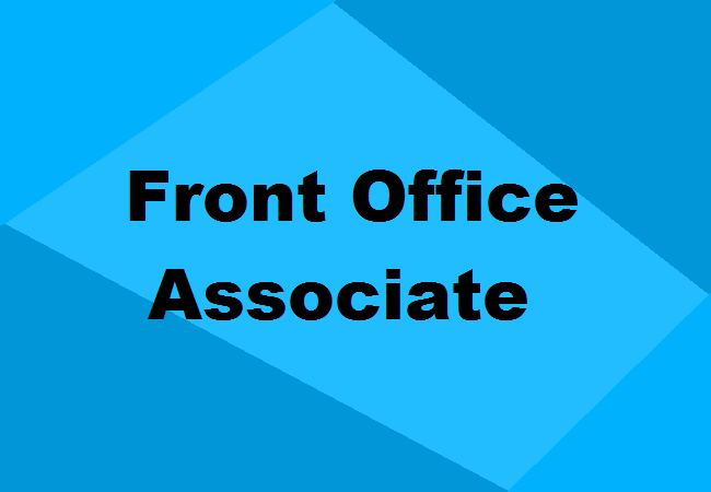 Front Office Associate Training: Fees, Institutes, Admission