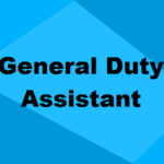 General Duty Assistant Training