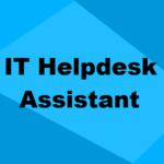 IT Help Desk Attendant Training