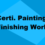 Certificate in Painting & Finishing Works