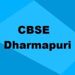 Best CBSE Schools in Dharmapuri 2019