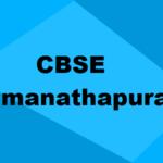 Best CBSE Schools in Ramanathapuram 2019